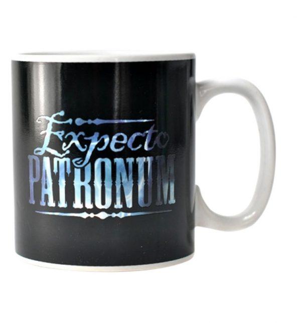 Taza mágica de Expecto Patronum de Harry Potter